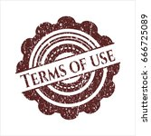 red terms of use distress with...