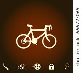 bicycle icon simple vector icon....