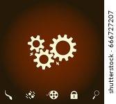 mechanism simple vector icon....