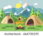 stock vector illustration... | Shutterstock .eps vector #666730195