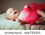 portrait a laughs very loudly... | Shutterstock . vector #666735205