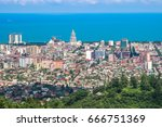 batumi  georgia july 1 2015... | Shutterstock . vector #666751369
