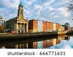 dublin  ireland. saint paul... | Shutterstock . vector #666771631