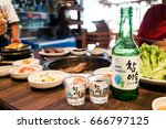 Small photo of Kuala Lumpur, Malaysia, June 26, 2017: Jinro Chamisul Soju has been the world's best-selling soju for 12 consecutive years and has earned numerous accolades. Now available in Malaysia.