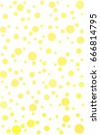 light yellow pattern of... | Shutterstock . vector #666814795