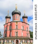 donskoy monastery  moscow russia | Shutterstock . vector #666814915
