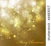 eps10 vector colorful christmas ... | Shutterstock .eps vector #66683017