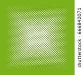 halftone effect. white square
