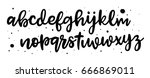 lettering and typography for... | Shutterstock .eps vector #666869011