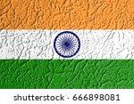 flag of india | Shutterstock . vector #666898081