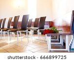funeral and mourning concept  ...   Shutterstock . vector #666899725