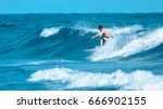 surfers waiting for a wave ... | Shutterstock . vector #666902155
