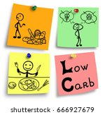simple illustration of low... | Shutterstock . vector #666927679