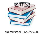 Reading Glasses With Books...
