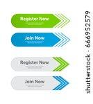 special website buttons... | Shutterstock .eps vector #666952579