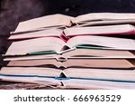 books | Shutterstock . vector #666963529