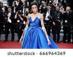 cannes  france   may 18  winnie ... | Shutterstock . vector #666964369
