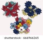 set of vector imprints with...   Shutterstock .eps vector #666966265