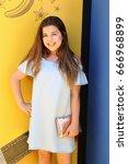 los angeles   jun 24   sophia... | Shutterstock . vector #666968899