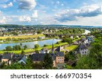 Panoramic Aerial View Of Trier...