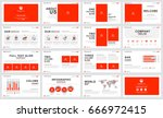 templates  presentation for... | Shutterstock .eps vector #666972415