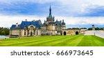 great castles  of france ... | Shutterstock . vector #666973645