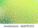 light green vector geometric... | Shutterstock .eps vector #666995191