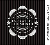 employee of the month silver... | Shutterstock .eps vector #667017115