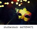 carnival mask | Shutterstock . vector #667054471