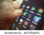 kuala lumpur  malaysia  20 jun... | Shutterstock . vector #667056691