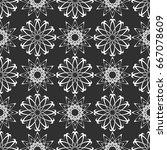 geometric seamless pattern.... | Shutterstock .eps vector #667078609