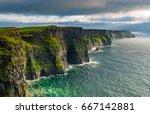 cliffs of moher   ireland | Shutterstock . vector #667142881