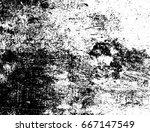 shabby old grunge stone... | Shutterstock . vector #667147549