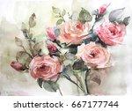 Watercolor Still Life Flowers ...
