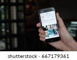 chiang mai  thailand   jun 15... | Shutterstock . vector #667179361