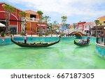 venezia hua hin thailand may 11 ...   Shutterstock . vector #667187305