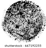 grunge post stamps collection ... | Shutterstock .eps vector #667192255