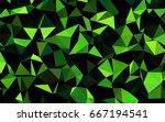 dark green vector abstract... | Shutterstock .eps vector #667194541