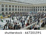 moscow  russia   may  2017  3rd ... | Shutterstock . vector #667201591