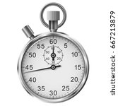 vector simple classic stop... | Shutterstock .eps vector #667213879
