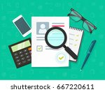 human resources concept vector... | Shutterstock .eps vector #667220611