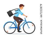 vector cartoon style... | Shutterstock .eps vector #667222879