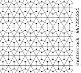 pattern vector line graphic... | Shutterstock .eps vector #667235335
