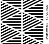 black diagonal and horizontal... | Shutterstock .eps vector #667237039