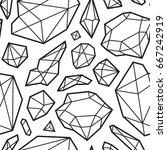 abstract modern seamless... | Shutterstock .eps vector #667242919