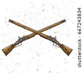 vector illustration. two...   Shutterstock .eps vector #667243834