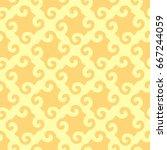 abstract seamless pattern.... | Shutterstock .eps vector #667244059