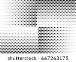 abstract halftone dotted... | Shutterstock .eps vector #667263175