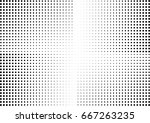 abstract halftone dotted... | Shutterstock .eps vector #667263235