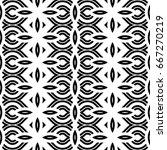 design seamless monochrome... | Shutterstock .eps vector #667270219